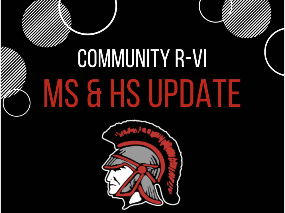 MS & HS Update from Mr. Curtis