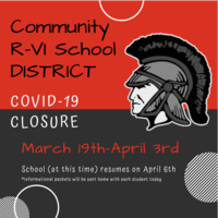MS & HS COVID-19 Closure Info