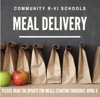 UPDATE: Meal Delivery Starting April 9
